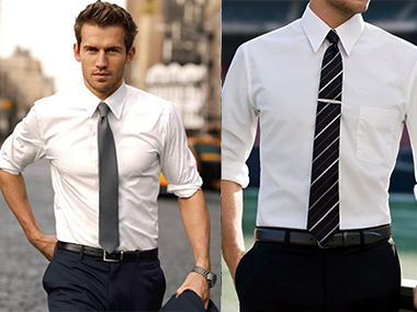 A guide to men s shirt tie combinations beauty for Pink shirt tie combo