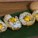 Baked Potatoes with Eggs Recipe