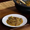 Banana Blossom Curry with Jack Fruit Seeds