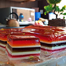 Colorful Jelly Layers