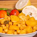 Easy Potato Chickpea Curry